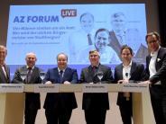 Stadtbergen: AZ-Forum: Diskussion mit den Bürgermeisterkandidaten im Video