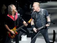 Metallica: Metal für den Magen: Metallica spielen erstes Deutschland-Konzert