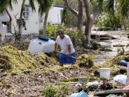 Naturkatastrophe: Auch nach Hurrikan Irma regiert in der Karibik die Angst