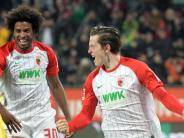 FC Augsburg: Alle lieben Gregoritsch nach dem FCA-Sieg gegen RB Leipzig