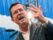 Bundestagswahl 2017: Bericht: CSU-Spitze rechnet nicht mehr mit Guttenberg-Comeback