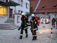 Nördlingen: Feuerwehr Nördlingen übt den Ernstfall