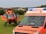 Verkehrsunfall: Unfall in Mindelheim - Radfahrer ist schwer verletzt
