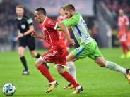 FC Bayern: FC Bayern verpasst mit 2:2 gegen Wolfsburg die Bundesliga-Spitze