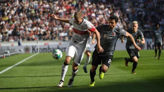 FC Augsburg: Schwabenduell FCA gegen VfB endet torlos - Koo verletzt sich am Kopf