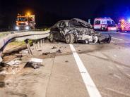 Rüsselsheim: Drei Menschen sterben bei Unfall mit Geisterfahrer