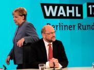 Verspätetes TV-Duell: Schulz macht in der Elefantenrunde den Schröder