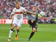 FC Augsburg: Finnbogason hatte in Stuttgart einen schweren Stand