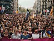 Katalonien: Tausende protestieren gegen Polizeigewalt - Generalstreik angekündigt