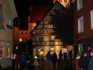 Bildergalerie: Lichterzauber bei der Krumbacher Lichternacht