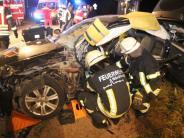 Kreis Donau-Ries: Schwer verletzte Frau nach Unfall auf der B25
