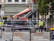 London: Es war ein Unfall: Auto fährt in London in Fußgängergruppe