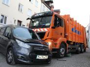 Kaufbeuren: Fahrer fällt aus Mülltransporter und wird überrollt