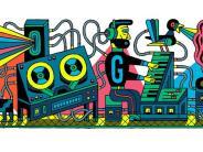 Google Doodle heute: Studio für elektronische Musik: Das steckt hinter dem Google Doodle