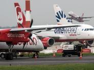 Düsseldorf: Air-Berlin-Pilot nach Ehrenrunde vom Dienst suspendiert