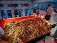 Berlin: Der größte Döner der Welt wiegt fast eine halbe Tonne