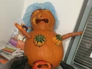 Bildergalerie: Kreativ und schaurig-schön - Halloween-Kürbisse unserer Leser