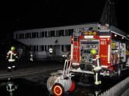 Ettringen: Bewohner wird bei Brand in Asylbewerberheim leicht verletzt