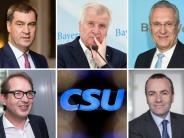 CSU-Personaldebatte: Wer wird was? Die möglichen Seehofer-Nachfolger im Überblick
