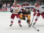 Augsburg: 2:8 - Eishockey-Team startet mit Debakel in Deutschland Cup