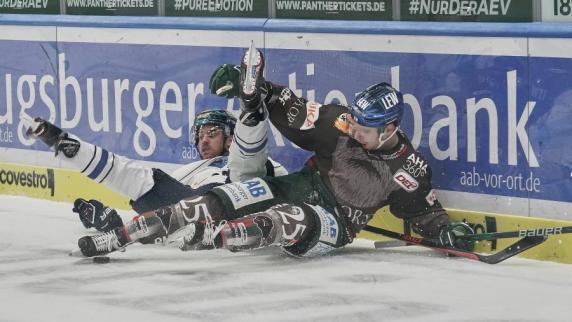 Eishockey: Augsburger Panther verlieren nach Penalty-Schießen gegen Ingolstadt
