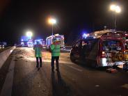 Kreis Günzburg: Falschfahrer verursacht tödlichen Unfall auf der A8