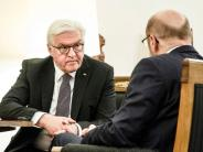 News-Blog: Steinmeier lädt Chefs von Union und SPD zu gemeinsamem Gespräch