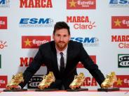 Lionel Messi: Messi gewinnt zum vierten Mal den Goldenen Schuh