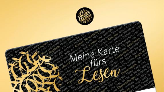 """Anzeige: Buchhandlung Hugendubel führt """"Karte fürs Lesen"""" ein"""