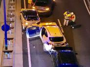 Augsburg: Sechs Autos krachen ineinander - B17 wieder freigegeben