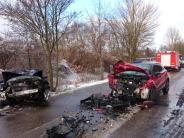 Landkreis Neu-Ulm: Vier Schwerverletzte bei Unfall in Kellmünz