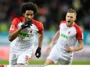 FC Augsburg: 1:1 - FCA versäumt Sprung auf Champions-League-Platz