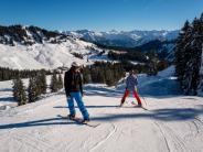 Allgäu: Wo man im Allgäu bereits Ski fahren kann