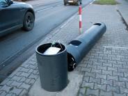 Hessen: Traktorfahrer soll sechs Blitzer umgefahren haben