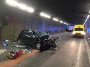 Schweiz: Zwei Menschen sterben bei Unfall im Gotthardtunnel - Strecke wieder frei