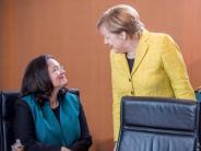 SPD in der Krise: Umfrage: Nahles in der Wählergunst weit abgeschlagen hinter Merkel