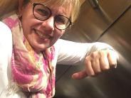 Sparkassen-Chefin: Cornelia Kollmer steckte in Londoner Aufzug fest