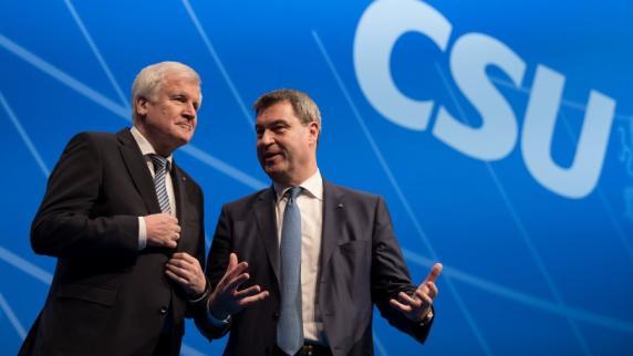 Kommentar: Die CSU tut, was ihr im Kampf um die Macht hilft