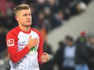 FC Augsburg: Alfred Finnbogason, die Augsburger Lebensversicherung