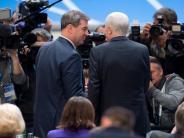 CSU-Parteitag: Zwei Männer, zum Erfolg verdammt
