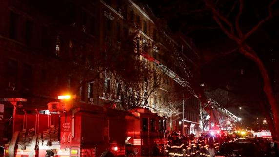 Mindestens 12 Tote bei Brand in New York