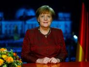 Neujahrsansprache: Angela Merkel ruft zu mehr Respekt und Zusammenhalt auf