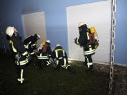 Augsburg: Gefangen im Aufzug, brennende Balkone: 229 Einsätze an Silvester