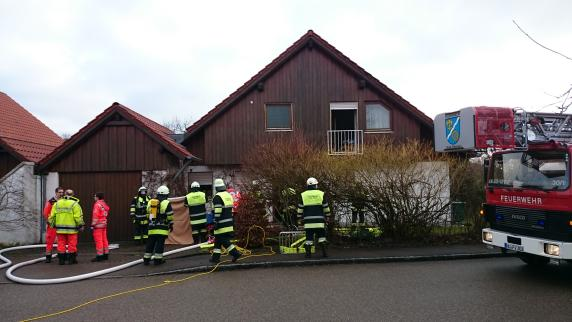 Ehepaar stirbt bei Brand in Vöhringen