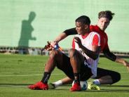 FC Augsburg: FCA-Profis mit intensiver Trainingseinheit auf Teneriffa