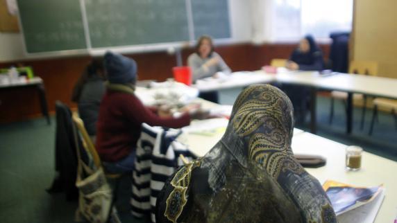 Vier von fünf Flüchtlingen fallen bei Deutsch-Test durch