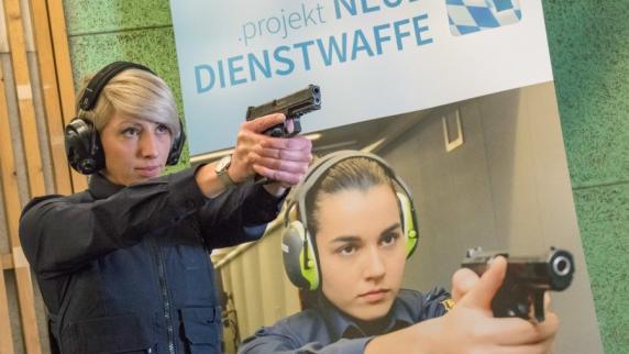 Neue Dienstwaffe der bayerischen Polizei vorgestellt