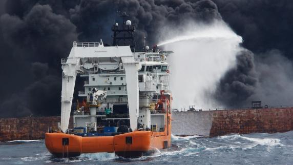 Öltanker vor China gesunken: Alle 30 Iraner an Bord tot