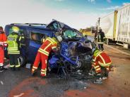 Kreis Landsberg: Schwerer Unfall auf der B17 - Mann lebensbedrohlich verletzt
