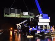 Augsburg: B17 kurzzeitig für Bauarbeiten gesperrt